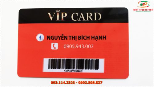 Thẻ VIP 002 6