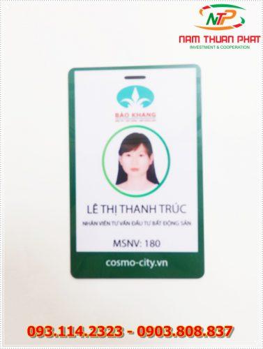 Thẻ nhân viên TD-001 7
