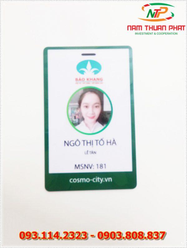 Thẻ nhân viên TD-001 1