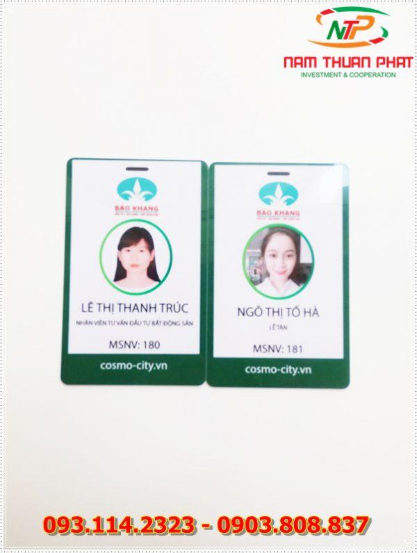 Thẻ nhân viên TD-001 3