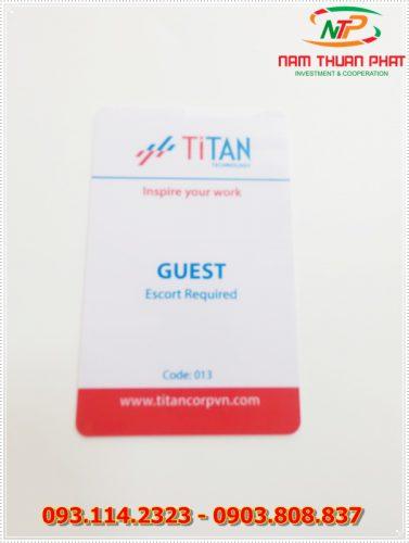 Thẻ nhân viên TD-013 5
