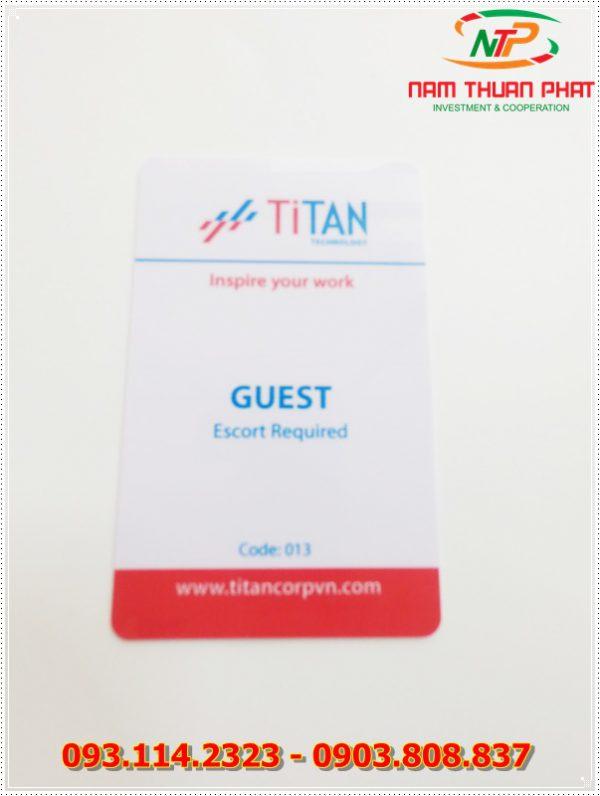 Thẻ nhân viên TD-013 1