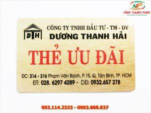 Thẻ nhân viên TD-010 11