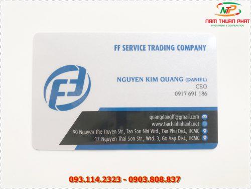Thẻ nhân viên TD-002 6