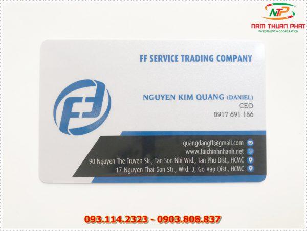 Thẻ nhân viên TD-002 2