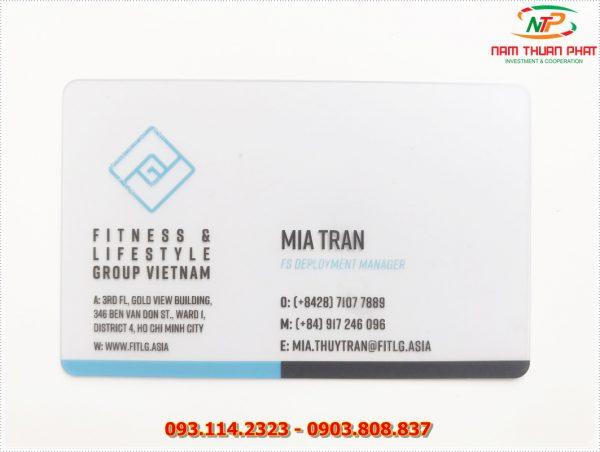 Thẻ nhân viên TD-019 1