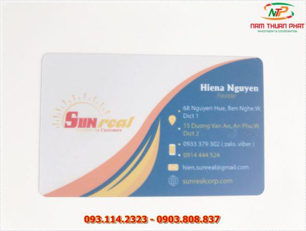Thẻ nhân viên TD-006 1