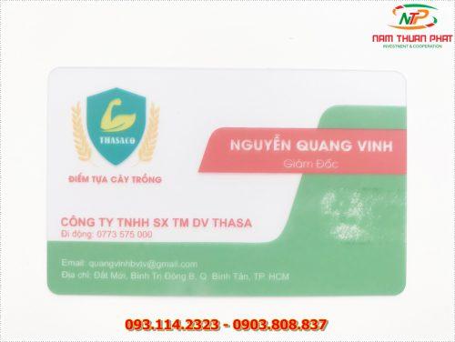 Thẻ nhân viên TD-008 5