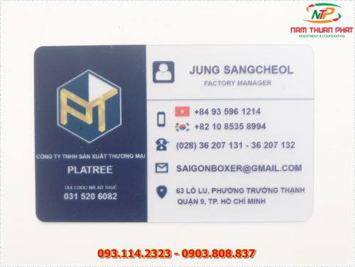 Thẻ nhân viên TD-005 5