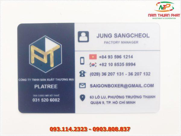 Thẻ nhân viên TD-005 1