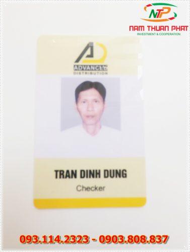 Thẻ nhân viên TD-018 5