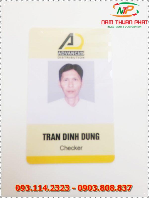 Thẻ nhân viên TD-018 1