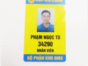 Thẻ nhân viên TD-012 9