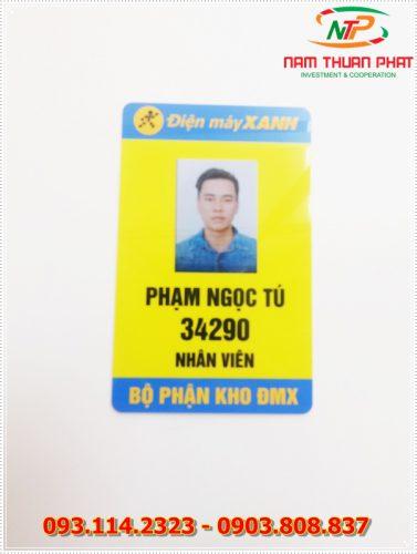 Thẻ nhân viên TD-004 5