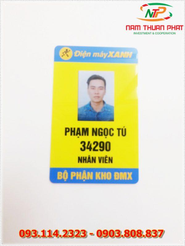 Thẻ nhân viên TD-004 1