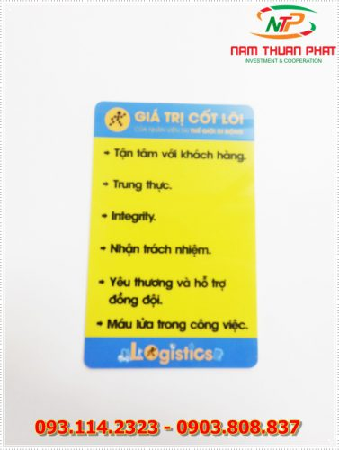 Thẻ nhân viên TD-004 6