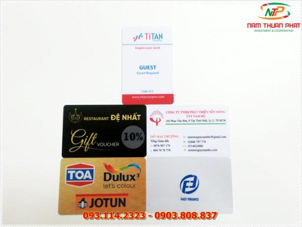 Thẻ nhân viên TD-003 3