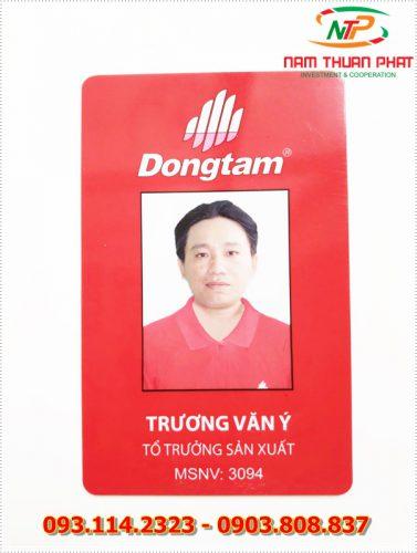 Thẻ nhân viên TD-015 7