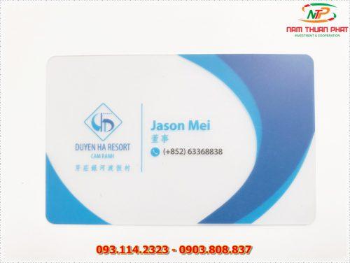Thẻ nhân viên TD-007 5