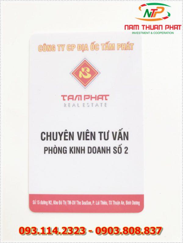Thẻ nhân viên TD-003 1