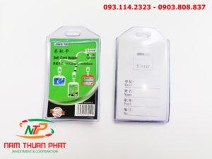 Bao đeo thẻ Zip W107 9