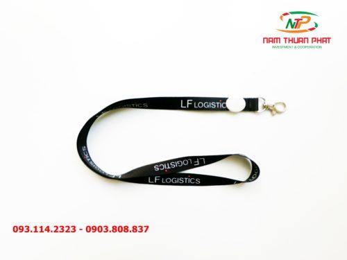 Dây đeo thẻ satin LF Logistic 8