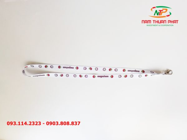 Dây đeo thẻ satin Magosteen 3