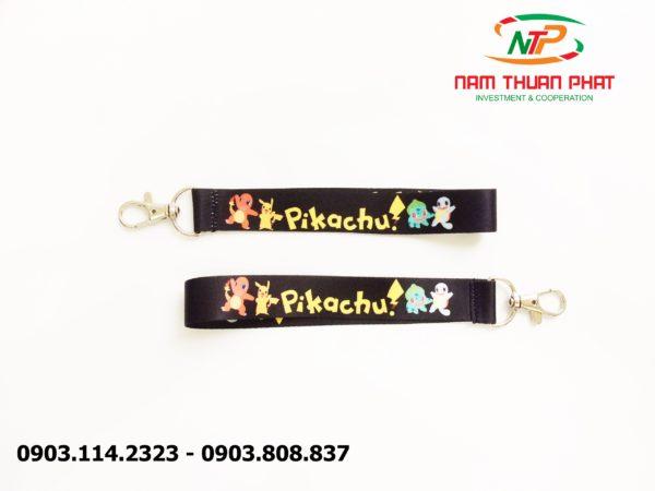 Dây đeo móc khóa Pikachu 1