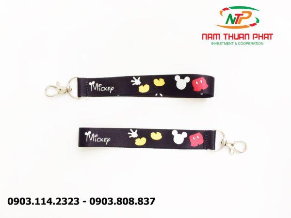 Dây đeo móc khóa Mickep và Minnie 3