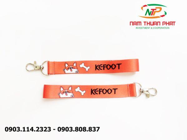 Dây đeo móc khóa Kefoot 1