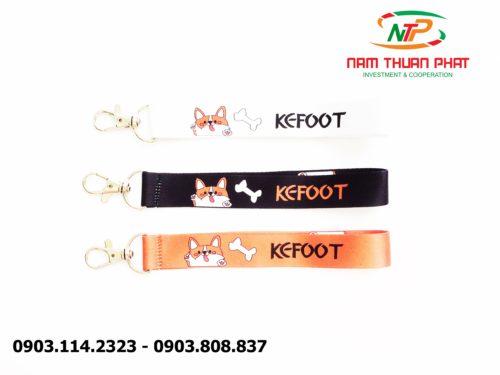 Dây đeo móc khóa Kefoot 9