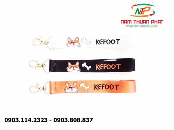 Dây đeo móc khóa Kefoot 4