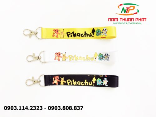 Dây đeo móc khóa Pikachu 9