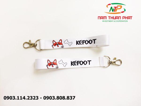 Dây đeo móc khóa Kefoot 3