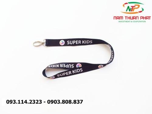 Dây đeo thẻ satin Super Kid 2