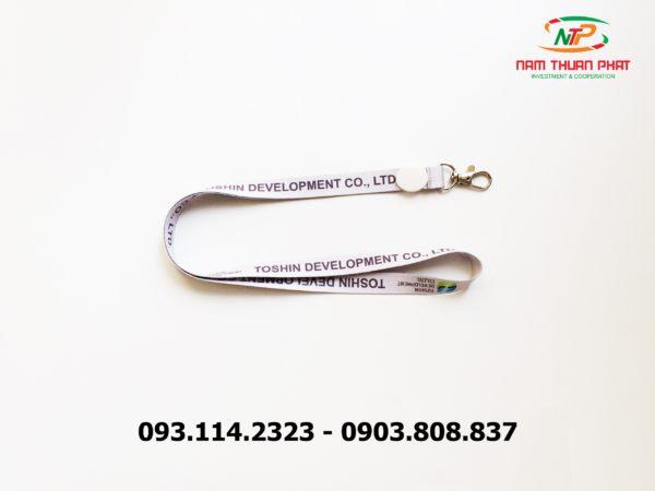 Dây đeo thẻ satin Toshin Development Co., LTD 2