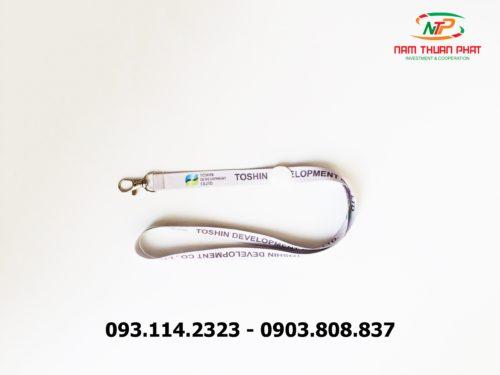 Dây đeo thẻ satin Toshin Development Co., LTD 9