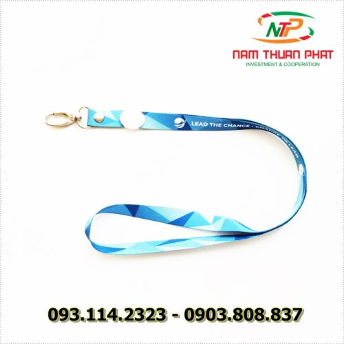 Dây đeo thẻ satin Lead the change 9