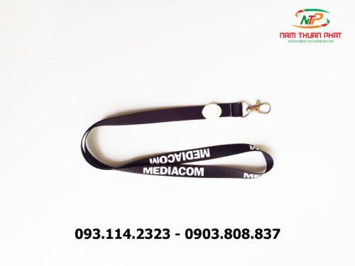 Dây đeo thẻ satin Đại học Mediacom 8