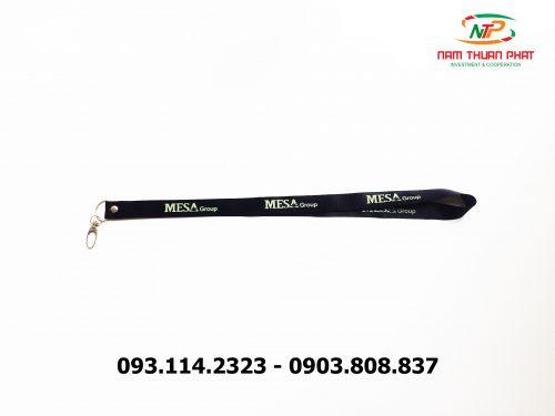 Dây đeo thẻ satin Mesa Group 7