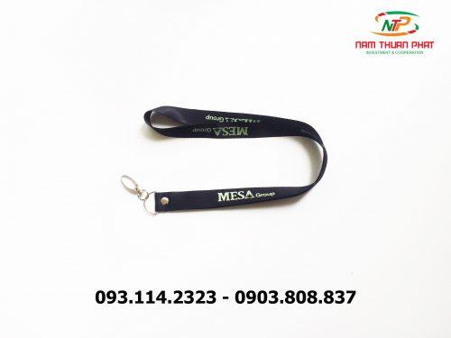 Dây đeo thẻ satin Mesa Group 9