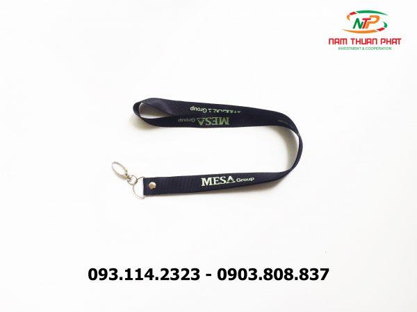 Dây đeo thẻ satin Mesa Group 2