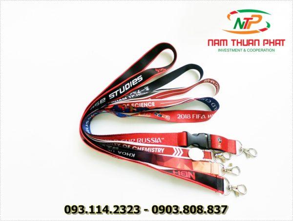 Dây đeo thẻ satin ĐH Sư Phạm HCM 4