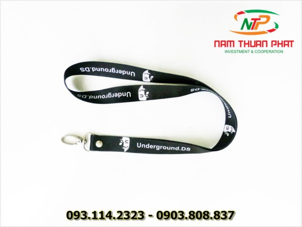Dây đeo thẻ satin UDS 3