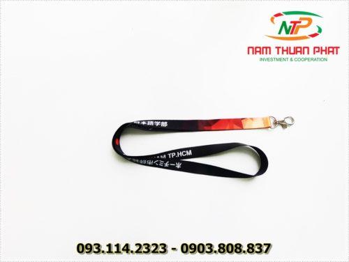Dây đeo thẻ satin ĐH Sư Phạm HCM 9