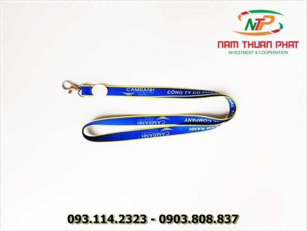 Dây đeo thẻ satin Cam Ranh 2