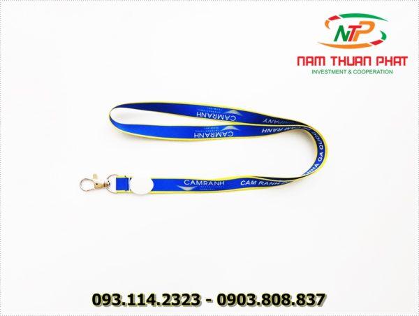 Dây đeo thẻ satin Cam Ranh 3