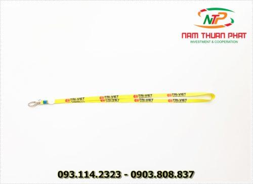 Dây đeo thẻ satin Trí Việt 7