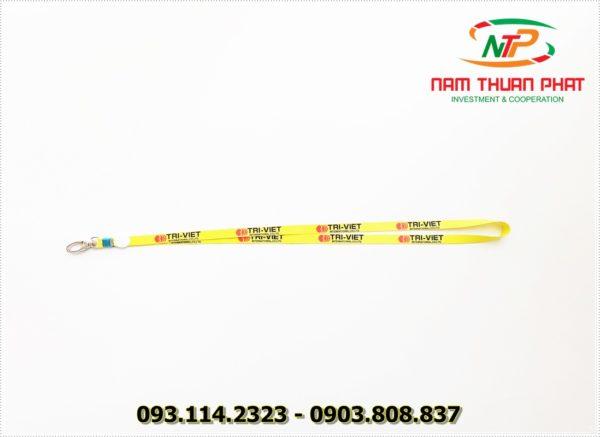 Dây đeo thẻ satin Trí Việt 1