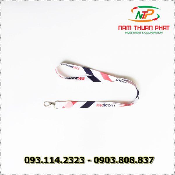 Dây đeo thẻ satin Maicom Vietnam 3